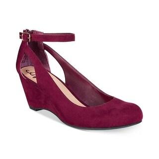 American Rag Womens AMILEY Suede Closed Toe Casual Platform Sandals