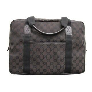 Gucci Unisex GG Canvas Laptop Tote Bag Shoulder Handbag 282529 - One size