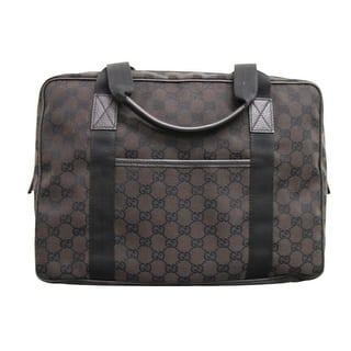 Gucci Uni Gg Canvas Laptop Tote Bag Shoulder Handbag 282529 One Size