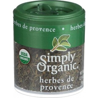 Simply Organic Mini, Og, Herbes De Provenc, 0.14-Ounce (Pack of 6)