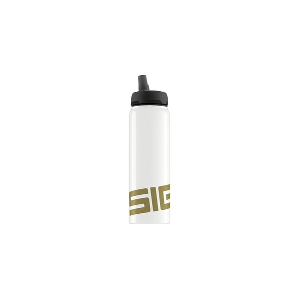 Sigg Water Bottle - Active Top - Gold - .75 Liter Water Bottles