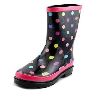 Rampage Girls Dot Round Toe Synthetic Rain Boot