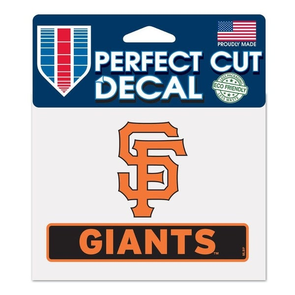 San Francisco Giants Decal 4.5x5.75 Perfect Cut Color. Opens flyout.