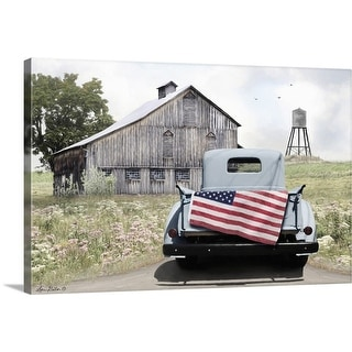 """""""American Tailgating"""" Canvas Wall Art"""