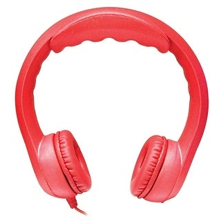 Hamilton Flex Stereo Foam Headphones (Red)