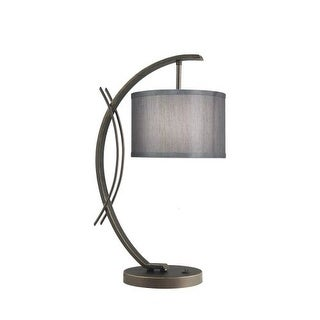 Woodbridge Lighting 13481MEB-S10802 1 Light Table Lamp from the Eclipse Collecti