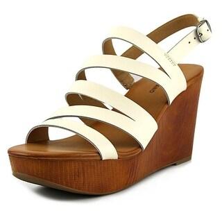 Lucky Brand Womens Marinaa Open Toe Casual Platform Sandals