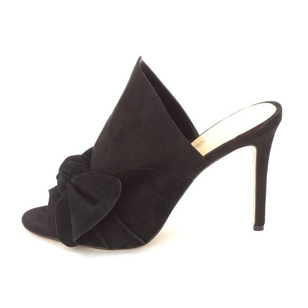 Daya by Zendaya Womens Sinclair Peep Toe Special Occasion Mule Sandals