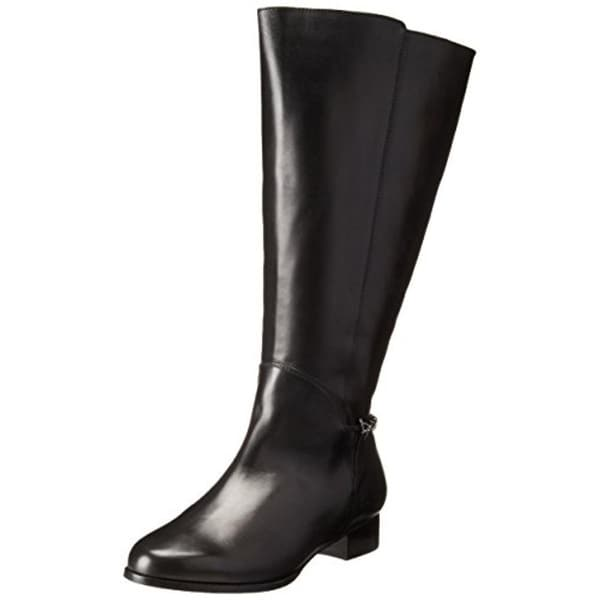 Rose Petals by Walking Cradles Womens Adina Riding Boots Extra Wide Calf Leather