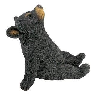 Design Toscano Catching Rays Bear Cub Statue