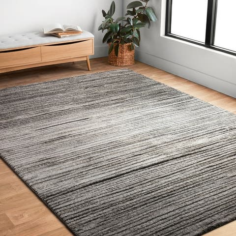 Alexander Home Brently Abstract Modern & Contemporary Area Rug