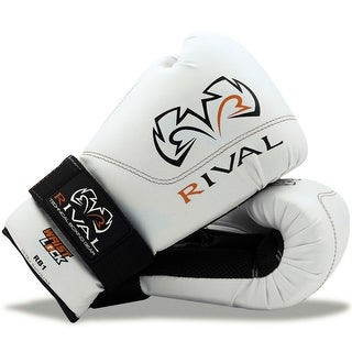 Rival Boxing RB1 Hook and Loop Ultra Bag Gloves - White