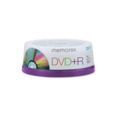 Memorex DVD+R, 4.7GB, 16x, 25pk Spindle,