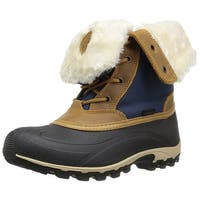 Kamik Womens Harper Closed Toe Ankle Cold Weather Boots
