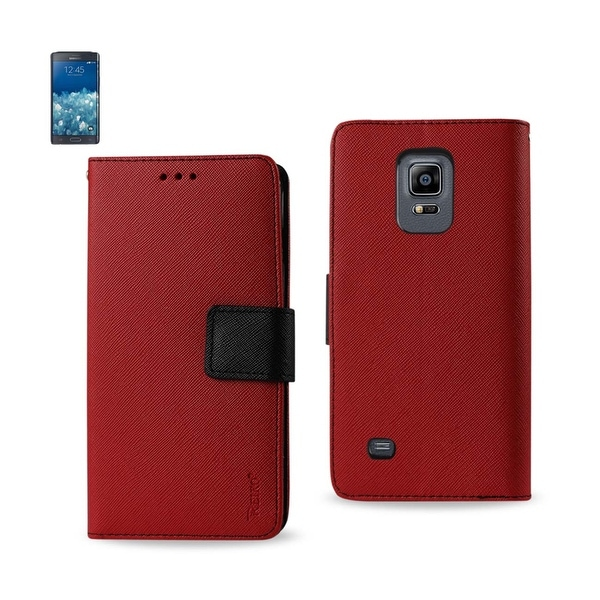 REIKO SAMSUNG GALAXY NOTE EDGE 3-IN-1 WALLET CASE IN RED