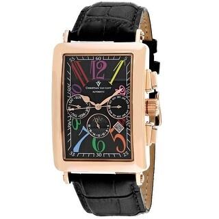Christian Van Sant Men's Prodigy CV9143 Black Dial Watch