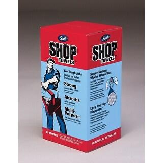 """Scott 75090 Shop Towels-In-A-Box, 11"""" X 10.4"""", Blue"""
