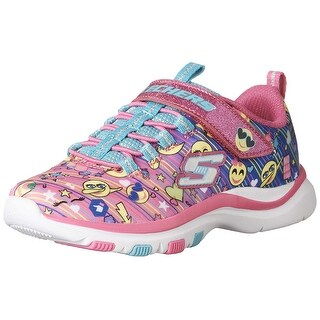 Skechers Trainer Lite Happy Dancer Girls Sneakers Multi 13