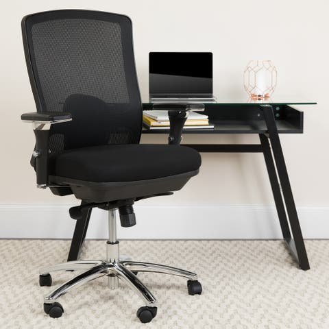 24/7 Intensive Use Big & Tall 350 lb. Rated Mesh Multifunction Chair