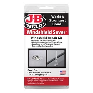 J-B Weld 2100 Windshield Saver Windshield Repair Kit, 75 Oz