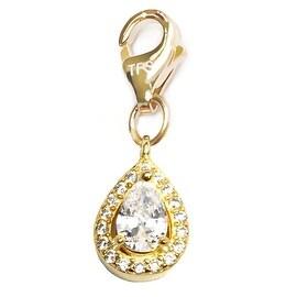 Julieta Jewelry Teardrop Clip-On Charm