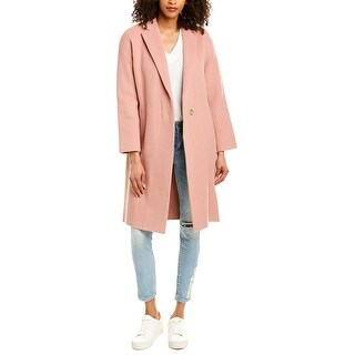 Vince Belted Wool-Blend Coat