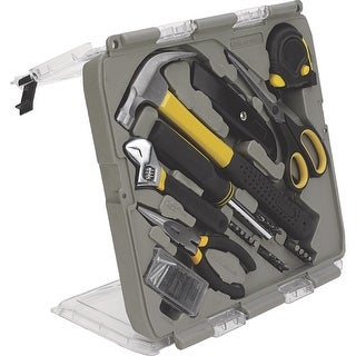 Trades Pro 55 Piece Home and Office Hand Tool Kit Set with Carry Case - 835110