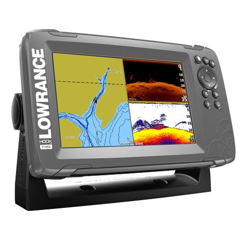 Lowrance hook2-7 splitshot combo with nav+ chart