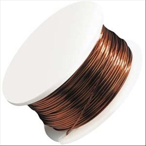 Shop Artistic Wire Copper Craft Wire 22 Gauge Thick 8