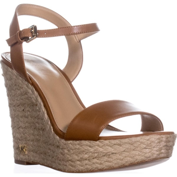 430098ed820 Shop MICHAEL Michael Kors Jill Wedge Espadrille Sandals