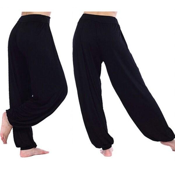 Ladies Women/'s Full Length Plain Harem Ali Baba Baggy Trouser Pants Size 8-26
