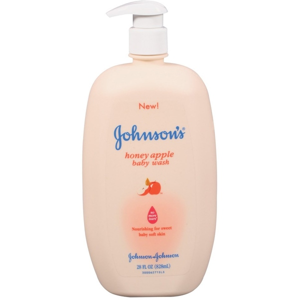 JOHNSON'S Baby Wash Honey Apple 28 oz
