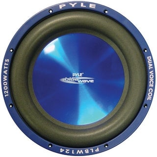 "SUBWOOFER 12"" PYLE BLUE WAVE 1200 WATTS; DVC; 70oz MAGNET"