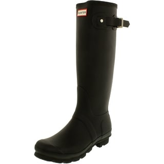 Link to Hunter Women's Original Tall Knee-High Rubber Rain Boot Similar Items in Women's Shoes
