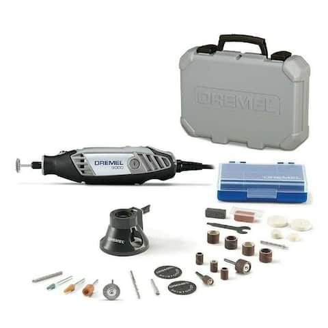 Dremel 3000 120V Variable Speed Rotary Multi-Tool Kit Reconditioned