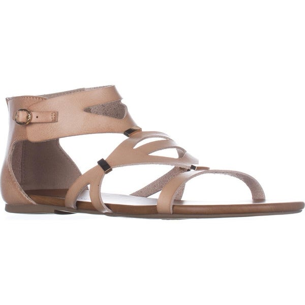 Rock & Candy Neves Gladiator Sandals, Nude