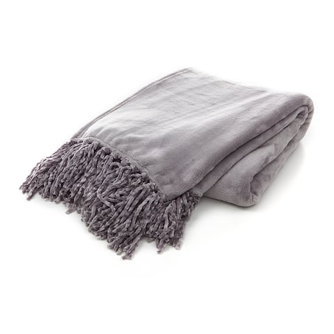 Gouchee Home Plush Throw Blanket