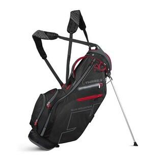 New Sun Mountain Three 5 Zero G Stand Bag - Black / Gunmetal / Red - CLOSEOUT - black / gunmetal / red