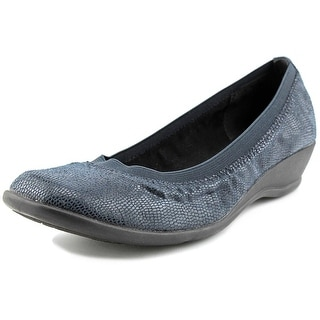 Soft Style by Hush Puppies Rogan N/S Square Toe Canvas Flats