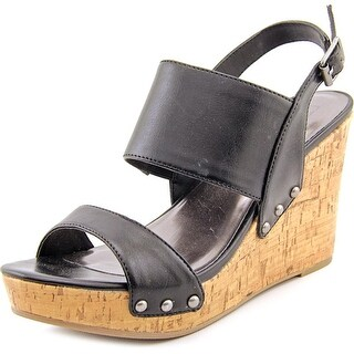 Material Girl Mona Women Black Sandals