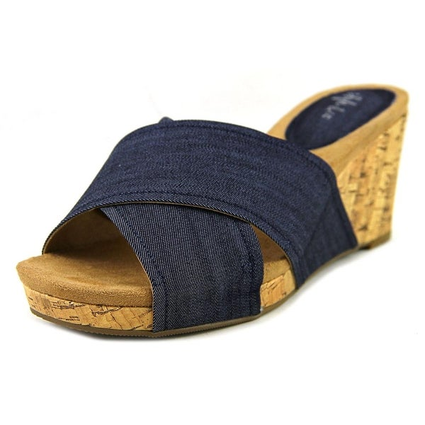 Style & Co Jillee Women Indigo Sandals