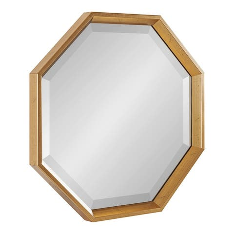 Kate and Laurel Calter Framed Large Octagon Wall Mirror