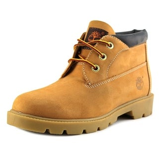 Timberland Waterproof Chukka Round Toe Leather Chukka Boot