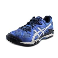 Asics Gel Tactic Women  Round Toe Synthetic Blue Cross Training