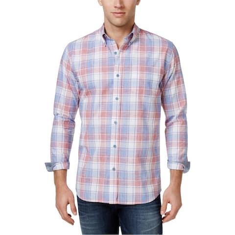 Weatherproof Mens Michael Button Up Shirt