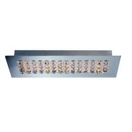 Eurofase Lighting 29099 Denso 1 Light LED Flush Mount Ceiling Fixture - Chrome