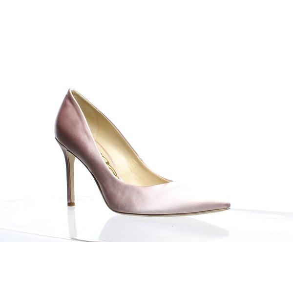 53873e3f60 Shop Sam Edelman Womens Hazel Pink Nude Satin Pumps Size 8 - On Sale ...