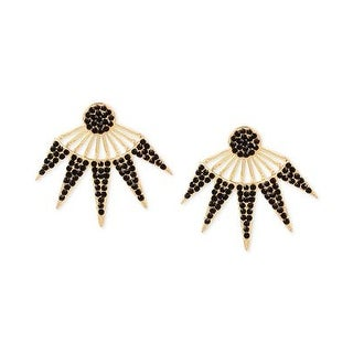 INC International Concepts Pavé Burst Earring Jackets - Gold