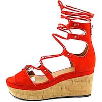 Coach Womens Barkley Open Toe Casual Platform Sandals