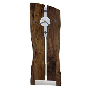 Link to Howard Miller Enzo Live Edge, Rustic, Modern, Contemporary, Transitional Wall Clock with Pendulum, Reloj De Pared Similar Items in Decorative Accessories